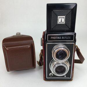 Photina Reflex TLR with original case