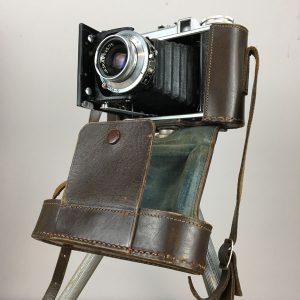 Voigtlander Perkeo II with original leather case