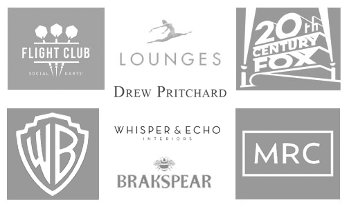 A selection of Kings-Lane clients from the hospitality, film & media and antique trade settings