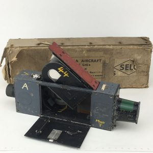 WW2 Williamson G45 Spitfire gun camera with Air Ministry markings