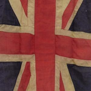 WW2 era Excelsior Union Flag Torn