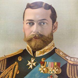 Portrait of King George V